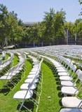 Disposizione dei posti a sedere di graduazione Immagini Stock Libere da Diritti
