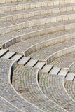 Disposizione dei posti a sedere e scale immagine stock
