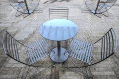 Disposizione dei posti a sedere esterna fotografie stock