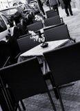 Disposizione dei posti a sedere esterna Fotografia Stock Libera da Diritti