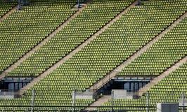 Disposizione dei posti a sedere nello stadio olimpico di Monaco di Baviera Fotografia Stock Libera da Diritti