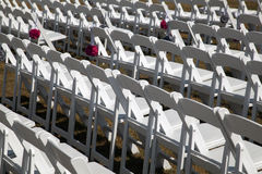 Disposizione dei posti a sedere per un evento Fotografia Stock