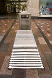 Disposizione dei posti a sedere pubblica Fotografie Stock Libere da Diritti