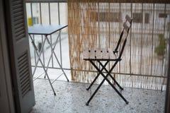 Disposizione dei posti a sedere sul balcone immagini stock libere da diritti