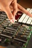 Disposizione del chip Immagini Stock Libere da Diritti