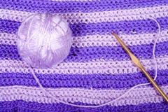 Disposizione del Crochet Immagine Stock Libera da Diritti