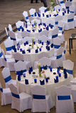 Disposizione del luogo di cerimonia nuziale Fotografia Stock Libera da Diritti