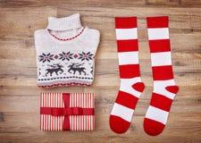 Disposizione del piano di Natale Fotografia Stock Libera da Diritti