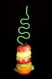 Disposizione della frutta Immagini Stock