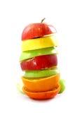 Disposizione della frutta Immagini Stock Libere da Diritti