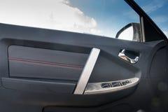 Disposizione della porta di automobile Immagine Stock