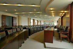 Disposizione della sala per conferenze Fotografie Stock Libere da Diritti