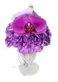 Disposizione delle orchidee, hydrangeas Fotografia Stock Libera da Diritti