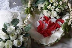 Disposizione di cerimonia nuziale immagine stock