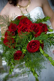 Disposizione di fiore del mazzo di cerimonia nuziale Immagine Stock