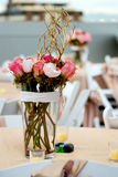 Disposizione di fiore di cerimonia nuziale Fotografia Stock