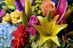 Disposizione di fiori Fotografie Stock Libere da Diritti