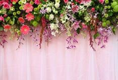Disposizione di fiori esotica Fotografia Stock