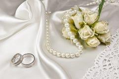 Disposizione di nozze Fotografia Stock