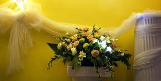Disposizione floreale immagine stock