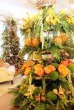 Disposizione floreale di Natale fotografia stock libera da diritti