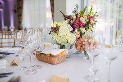 Disposizione floreale di nozze Immagine Stock Libera da Diritti