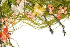 Disposizione floreale di Pasqua Fotografia Stock Libera da Diritti