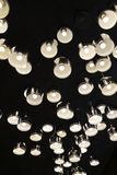 Disposizione irregolare delle luci di alluminio della copertura LED Immagini Stock Libere da Diritti