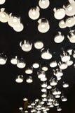 Disposizione irregolare delle luci di alluminio della copertura LED Immagine Stock