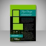 Disposizione per progettazione - aletta di filatoio del sito Immagini Stock