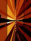 Disposizione rossa 3d Immagine Stock
