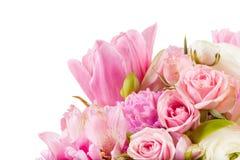 Disposizione stupefacente del mazzo del fiore Fotografia Stock Libera da Diritti
