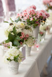 Disposizioni dei fiori Immagine Stock