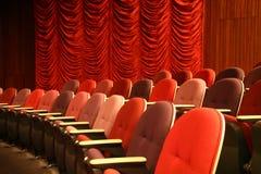 Disposizioni dei posti a sedere del teatro Fotografia Stock Libera da Diritti