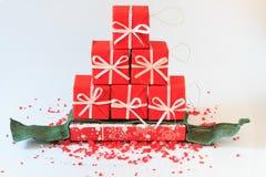 Disposizioni di Natale Fotografie Stock