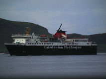 Caladonion mcbrayne Dispute. Island ferry service up for tender strike action against pay and security of jobs Royalty Free Stock Image