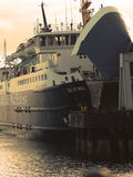Caladonian mcdrayne Dispute. Island ferry service up for tender strike action against pay and security of jobs Stock Image