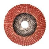 Disque abrasif utilisé pour la broyeur images stock