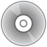 Disque CD de DVD Photographie stock