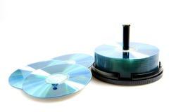 Disque compact-ROM Photo libre de droits