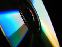 Disque compact-ROM image stock