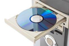Disque compact-ROM d'ordinateur Photographie stock