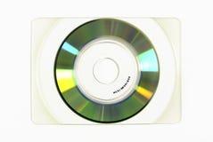 Disque compact-ROM de carte de visite professionnelle de visite Images libres de droits