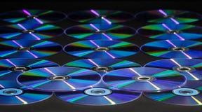 Disque de CD ou de DVD Images libres de droits