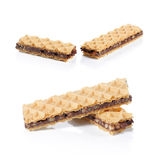 Disque de chocolat Photographie stock libre de droits