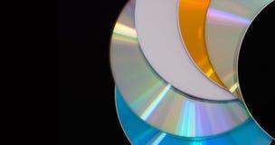 Disque de DVD Photo libre de droits