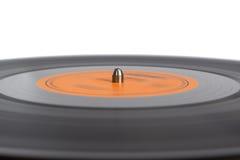 Disque de phonographe sur la plaque tournante Photos libres de droits
