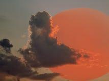 Disque de Sun Image libre de droits