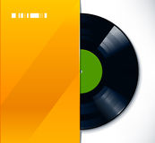 Disque de vinyle Images stock