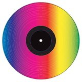 Disque de vinyle Images libres de droits